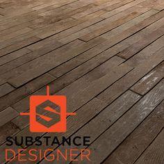 Substance Designer - Old Wood Floor, Kurt Kupser on ArtStation at https://www.artstation.com/artwork/9zd3L