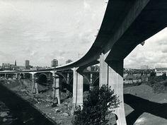 Construction of Metro Bridge Across the Ouseburn Valley, Newcastle upon Tyne