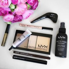 NYX Cosmetics Review Part II Face & Eyes Anverelle