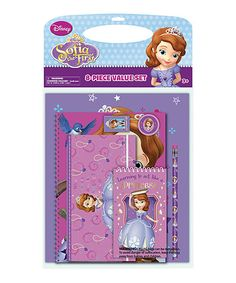 Look what I found on #zulily! Sofia the First Stationery Set #zulilyfinds