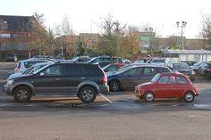 Standardised parking space