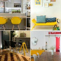 Amarelo pra iluminar! #amarelo #yellow #decor #homedecor #decoracao #decorations…