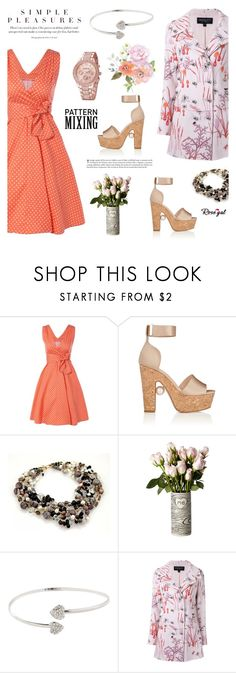 """""""Rosegal 28"""" by cly88 ❤ liked on Polyvore featuring Nicholas Kirkwood, Giambattista Valli and vintage"""