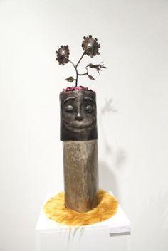 Satisfaction, Escultura en hierro, Luichman