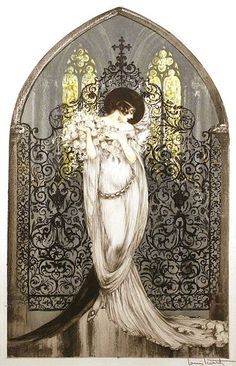 """Louis Icart (French, 1888-1950), """"Tosca""""   Flickr - Photo Sharing!"""