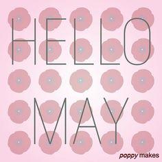 Hello May!    #PoppyMakes #NewMonth #NieuweMaand #May #mei #InMeiLeggenAlleVogelsEenEi #Hello #Hallo #Sun #Zon #Rain #Regen #BringOnTheSun #Spring #Lente #Summer #Zomer #InstaGood #InstaFollow #InstaQuote #InstaLike #likeforlike #like4like    If you repost please give me a thumbs up/ like / mention / follow #thanks