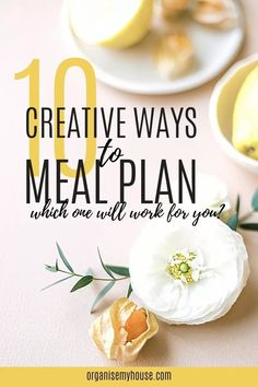 Ready to get meal planning? Maybe you've been put off in the past and tried a few methods that didn't work. Well - I want to make sure you have the right system for how you and your family work - so I've gathered together a collection of the 10 best ways to meal plan that I've found. Which will be your favourite? Money Saving Meals, Household Chores, Budget Meals, Homemaking, Make It Simple, Meal Planning, Meal Prep, Easy Meals, Diet