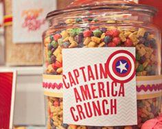 Captain America Crunch- <3 this!