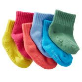 Add a pop of color to her outfits with these colorful 6-pack of crew socks.