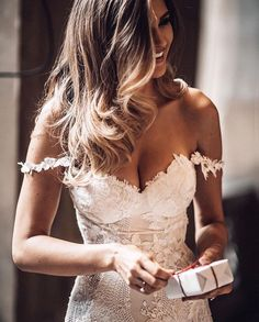 Wedding Dress Off the Shoulders in Lace wedding gown Romantic Wedding Dresses — the bohemian wedding Wedding Dress Styles, Dream Wedding Dresses, Designer Wedding Dresses, Bridal Dresses, Maxi Dresses, Lace Bride, Lace Mermaid Wedding Dress, Off Shoulder Wedding Dress Bohemian, Vintage Bride Dress