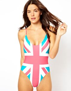 london.. I am obsessed with this. I realize I have to get my post pregnant butt in shape to wear a bathing suit, but I'd like to rock this  come summer time with my little Brody Finn at the beach <3