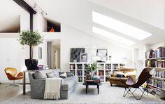 Stockholm Vitt - Interior Design: Scandinavian Loft
