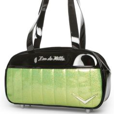 Searching For Lux De Ville Black/Lime Cruiser Tote