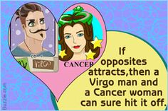 Virgo man and Cancer woman relationship