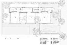 Binh House,Plan Level 1