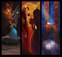 Dealing with dragons part one by Zzanthia.deviantart.com on @deviantART