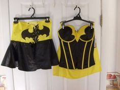 710777f9e60 DC ORIGINALS COMIC BATMAN CORSET WITH WAIST CINCHER SKIRT COSPLAY MEDIUM · Comic  CostumeCosplay CostumesMix ...