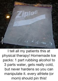 Malleable ice pack