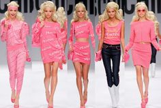 Hot or Not? Moschino goes Barbie for Spring 2015 Ready-to-Wear Collection at Milan Fashion Week? #MFW