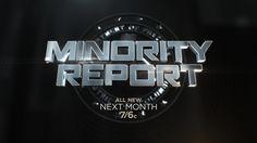 Minority Report on Behance