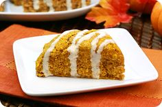 Healthy Pumpkin Recipes: Hungry Girl's Pumpkin, Spice & Everything Iced Scones