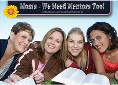 Moms Need Mentors - do you have one?