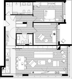 Apartment J01 - Julia by dontDIY , via Behance