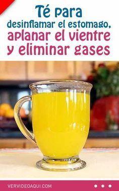 Té para desinflamar el estomago, aplanar el vientre y eliminar gases