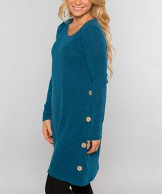 This Teal Carlisle Tunic is perfect! #zulilyfinds
