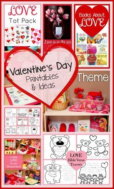 Valentines Day Printables And Ideas Lots Of Free Printables And Fun Ideas For Kids
