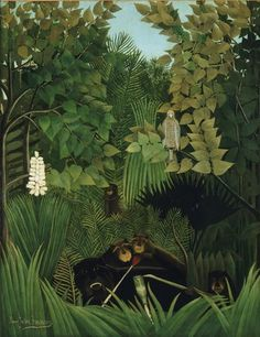 HENRI ROUSSEAU The Merry Jesters (1906)