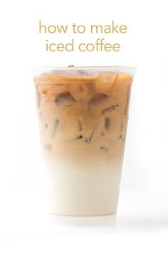It's easy to make iced coffee right at home. #coffee