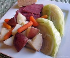 Corned beef and cabbage receipe