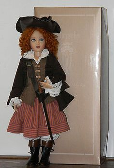 Lark-of-the-High-Seas-14-Helen-Kish-doll-signed-MDCC-2008. Sold for $384.01 on 9/3/14