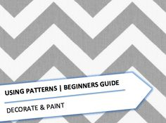 Using Patterns | BEGINNERS GUIDE  #DECORATEANDPAINT #INTERIORDESIGN #HOMEDESIGN #DESIGNADVICE #INTERIORSBLOG #HOMEBLOGGER