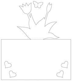 pop up card with flowers ideas Animal Crafts For Kids, White Flowers, Pop Up, Diy And Crafts, Clip Art, Cards, Ideas, Popup, Maps