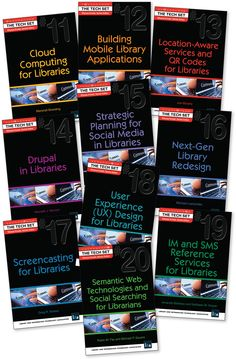 The new TECH SET®  books are out!   10 guides to today's best library technologies