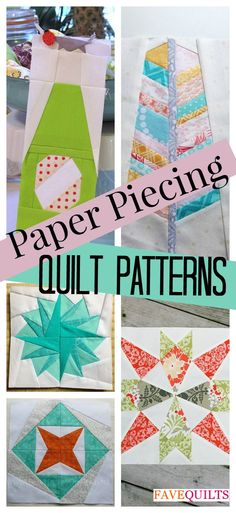 Paper Piecing Tutorial, free block pattern, quilt blocks, quilt block patterns…