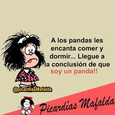 Mundo de Postales: SOY UN PANDA...