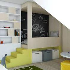 Dormitorios infantiles de estilo escandinavo por BAGUA Pracownia Architektury Wnętrz