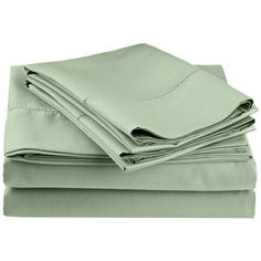 Darby Home Co Freeburg 600 Thread Count Sheet Set Color: Sage, Size: California King