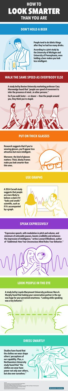 7 Tricks for Looking Smarter Than You Are | Fake it 'til you make it!