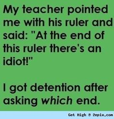 Teacher FAIL.
