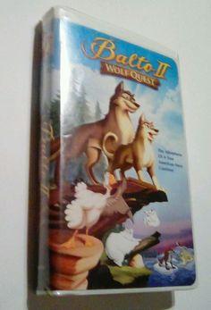 Balto II: Wolf Quest (VHS, 2002, Clamshell)