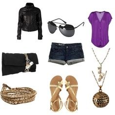 Perfect Summer Day-to-Night Outfit, created by leanne-moreira.polyvore.com
