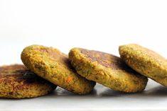Vegan Broccoli Cheeze Chickpea Burgers