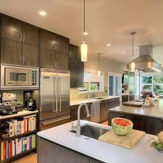 Space for Cook books & coffe area.  Design Ideas, Pictures, Remodel, and Decor - page 32