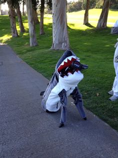 "February 11, 2013: ""#landshark,"" PGA Tour player David Hearn (@HearnDavid) said about this hilarious yet ominous golf bag."