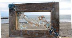 Mermaid Sea Glass Window. $70.00, via Etsy.