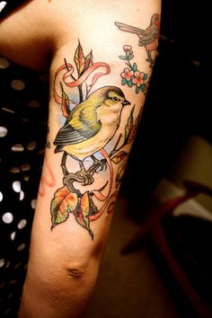 so similar to a tat i was going to get. just needs a squirrel.